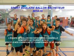 BALLON RACHETEUR 2014-15