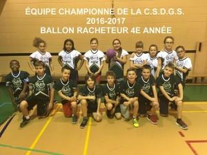 CHAMPION 4E CSDGS